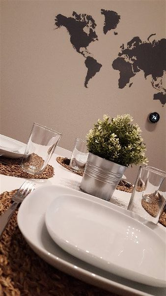 Dining Room & Map