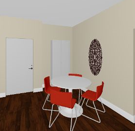 dining room perspective